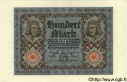100 Mark ALLEMAGNE  1920 P.069b pr.NEUF