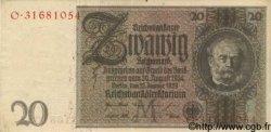 20 Reichsmark ALLEMAGNE  1929 P.181a TTB+ à SUP