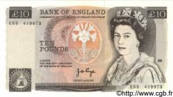 10 Pounds ANGLETERRE  1975 P.379a NEUF