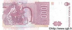 1000 Australes ARGENTINE  1989 P.329c NEUF