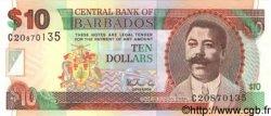 10 Dollars BARBADE  1973 P.31a NEUF