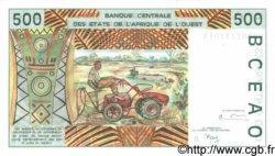 500 Francs BÉNIN  1999 P.210Bj NEUF