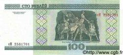 100 Roubles BIÉLORUSSIE  2000 P.26 NEUF