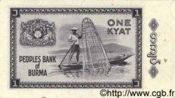 1 Kyat BIRMANIE  1965 P.52 SPL
