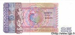 35 Kyats BIRMANIE  1958 P.63 NEUF