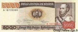 5000 Pesos Bolivianos BOLIVIE  1984 P.168a NEUF