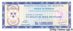 1000000 Pesos Bolivianos BOLIVIE  1985 P.192c NEUF