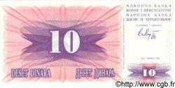 10 Dinara BOSNIE HERZÉGOVINE  1992 P.010a NEUF