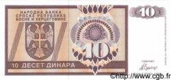 10 Dinara BOSNIE HERZÉGOVINE  1992 P.133a NEUF