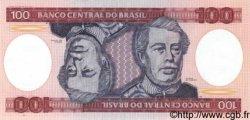 100 Cruzeiros BRÉSIL  1984 P.198b NEUF