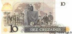 10 Cruzados BRÉSIL  1987 P.209b NEUF