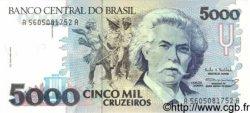 5000 Cruzeiros BRÉSIL  1993 P.232c NEUF
