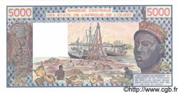 5000 Francs BURKINA FASO  1990 P.308Cn