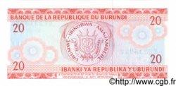 20 Francs BURUNDI  1991 P.27c NEUF