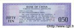 50 Fen CHINE  1979 P.FX2 pr.NEUF