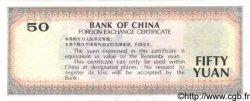 50 Yuan CHINE  1988 P.FX8