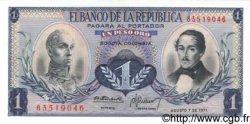1 Peso Oro COLOMBIE  1971 P.404e NEUF