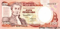100 Pesos Oro COLOMBIE  1991 P.426e NEUF