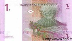 1 Centime CONGO  1997 P.80 NEUF