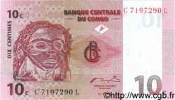 10 Centimes CONGO  1997 P.82a NEUF