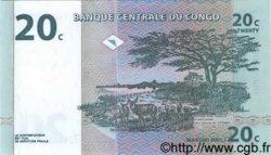 20 Centimes CONGO (RÉPUBLIQUE)  1997 P.083 NEUF