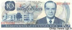 10 Colones COSTA RICA  1983 P.237b