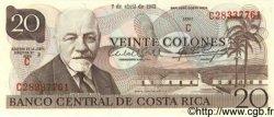 20 Colones COSTA RICA  1983 P.238c NEUF