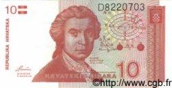 10 Dinara CROATIE  1991 P.18a NEUF