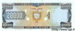 20000 Sucres ÉQUATEUR  1999 P.129a NEUF