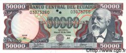 50000 Sucres ÉQUATEUR  1999 P.132 NEUF