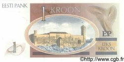 1 Kroon ESTONIE  1992 P.69 NEUF