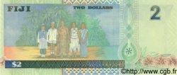 2 Dollars FIDJI  1996 P.096b