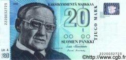 20 Markkaa FINLANDE  1993 P.123 NEUF