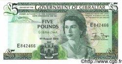 5 Pounds GIBRALTAR  1988 P.21b