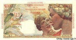 1000 Francs GUADELOUPE  1949 P.37 SPL