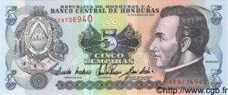 5 Lempiras HONDURAS  1993 P.063c NEUF