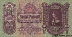 100 Pengö HONGRIE  1930 P.098 NEUF