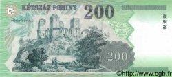 200 Forint HONGRIE  1998 p.178 NEUF