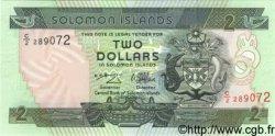 2 Dollars ÎLES SALOMON  1997 P.18 NEUF