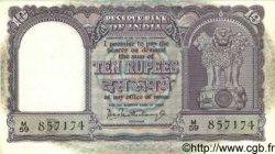 10 Rupees INDE  1962 P.040b SPL
