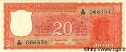 20 Rupees INDE  1970 P.061c SPL