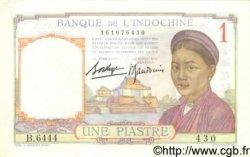 1 Piastre INDOCHINE FRANÇAISE  1936 P.054b SPL