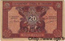 20 Cents INDOCHINE FRANÇAISE  1943 P.090 pr.NEUF