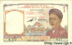 1 Piastre INDOCHINE FRANÇAISE  1952 P.092 SPL