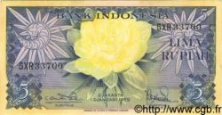 5 Rupiah INDONÉSIE  1959 P.065 SUP