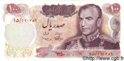 100 Rials IRAN  1971 P.098 NEUF