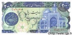 200 Rials IRAN  1981 P.127 NEUF