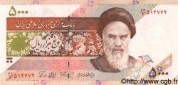5000 Rials IRAN  1993 P.145