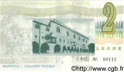 2 Leghe ITALIE  1993 P.- NEUF