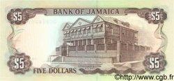 5 Dollars JAMAÏQUE  1992 P.70d NEUF